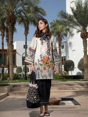 Solitaire Kurti from Firdous The Classic Digital Edition – Vol 2  Design 19161 RESTOCKED