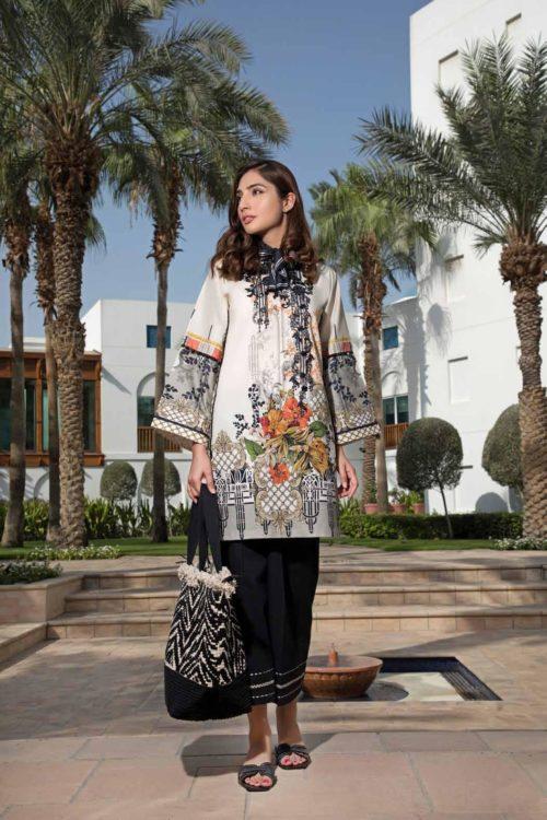 *On Sale* Solitaire Kurti from Firdous The Classic Digital Edition – Vol 2  Design 19325 RESTOCKED Firdous Pakistani Suits