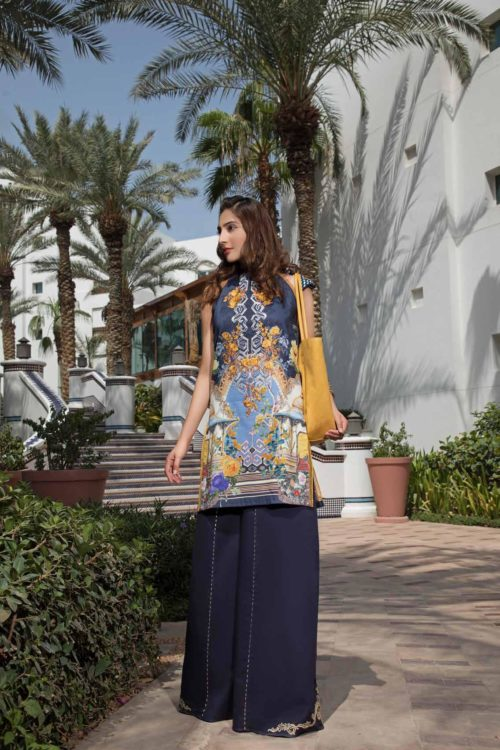 *On Sale* Solitaire Kurti from Firdous The Classic Digital Edition – Vol 2  Design 19163 RESTOCKED Firdous Pakistani Suits