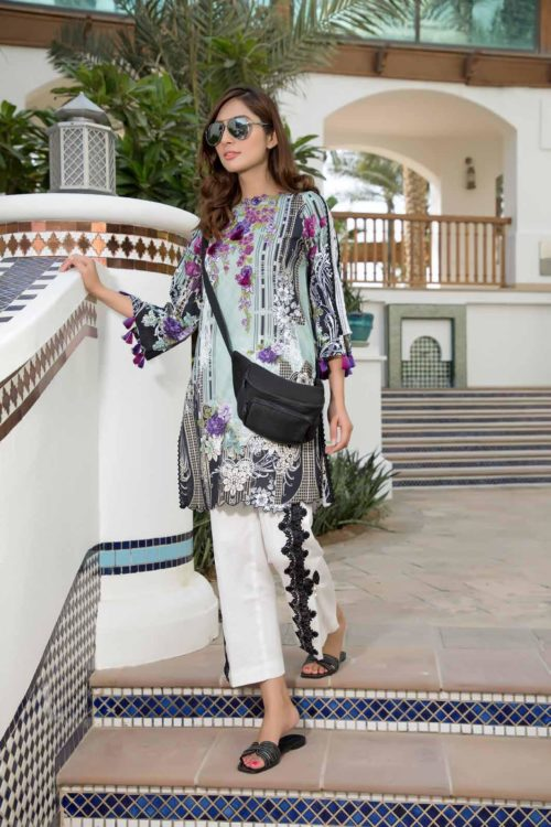 *On Sale* Solitaire Kurti from Firdous The Classic Digital Edition – Vol 2  Design 19161 RESTOCKED Firdous Pakistani Suits