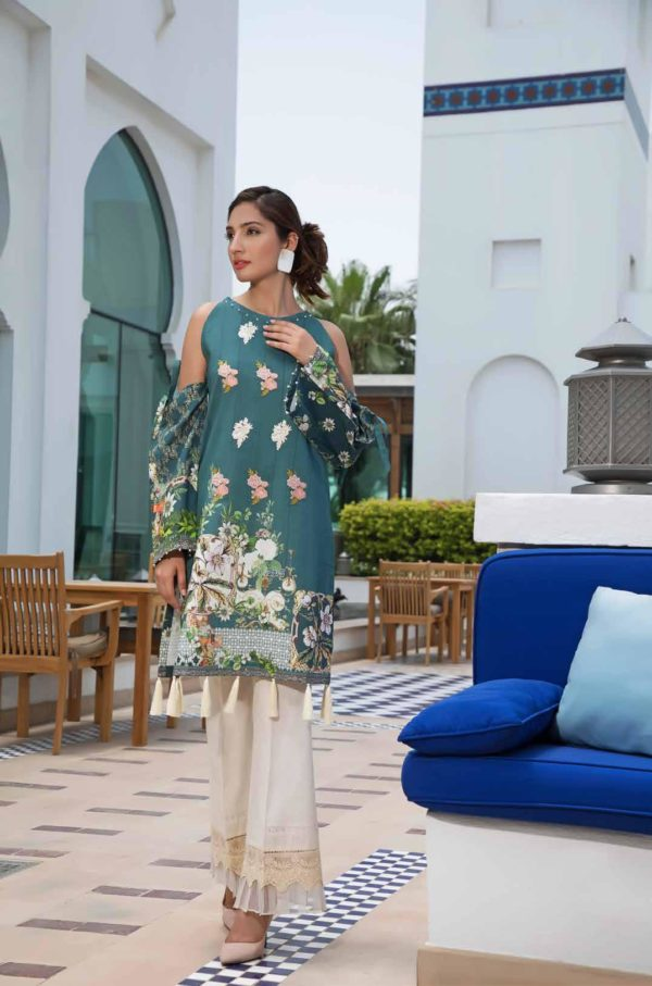 *On Sale* Solitaire Kurti from Firdous The Classic Digital Edition – Vol 2  Design 19248 RESTOCKED Firdous Pakistani Suits