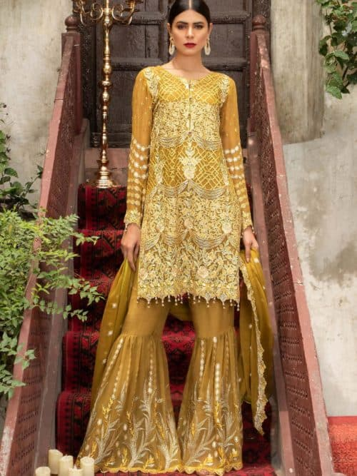 Maryam Gold Luxury Chiffon Vol 4 - Original
