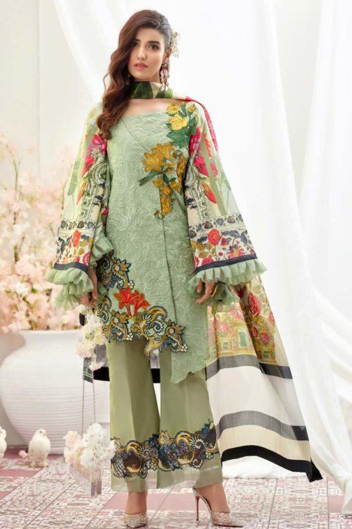 *On Sale* Asifa Nabeel Luxury Lawn 9K – Wisdom RESTOCKED Asifa Nabeel Luxury Lawn