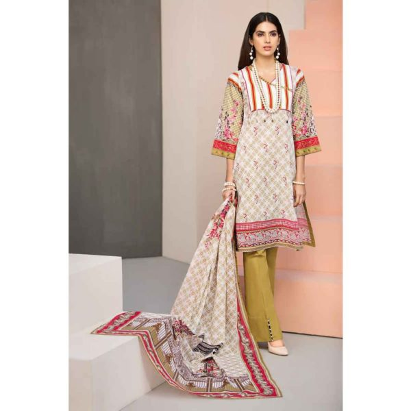 GulAhmed Mal Mal Collection 3 PC Lawn Suit  CL-498 B –  FSTN HOT