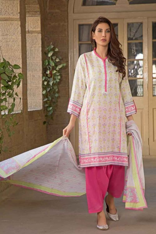 GulAhmed Mal Mal Collection 3 PC Lawn Suit CL-557 A –  FSTN HOT GulAhmed Limited Edition Malmal Collection - Original best pakistani suits collection