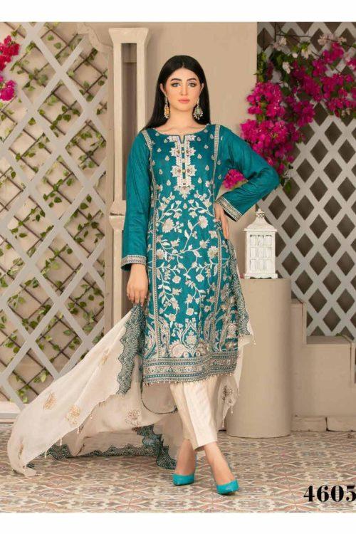 *On Sale* Tawakkal Jewel of Summer Lawn RESTOCKED Chiffon Dupatta Salwar Suit