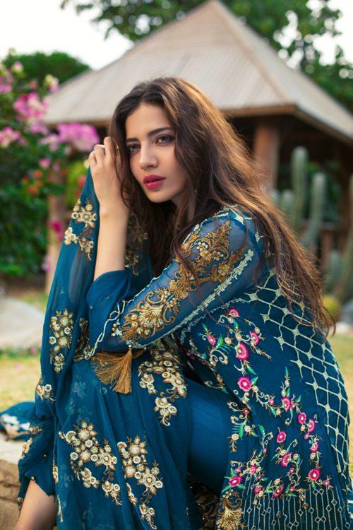 Rozina Munib's Festive Chiffon - Original