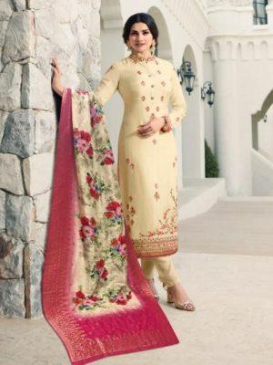 Sajawat Begam Vol 3 Georgette Lucknavi Work Dress D.No 38023