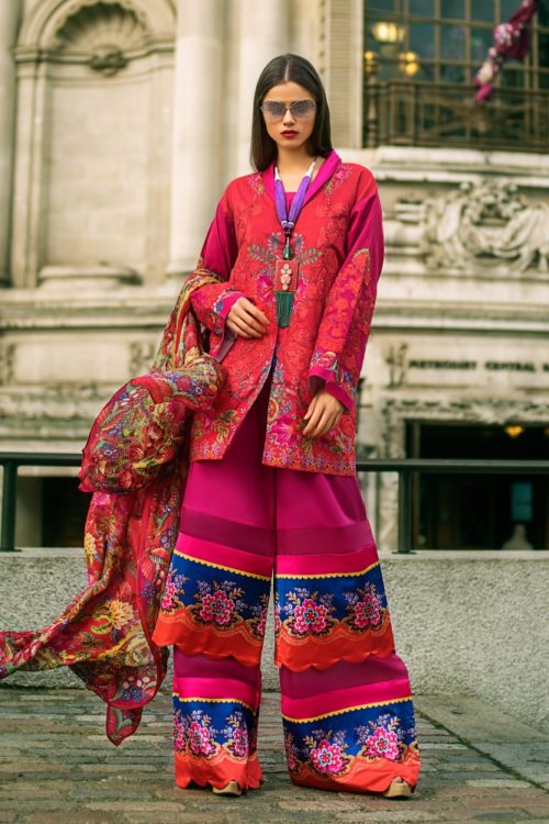 Honey Waqar Festive Luxury Lawn - Original