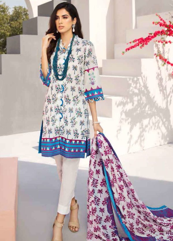 GulAhmed Mal Mal Collection 3 PC Lawn Suit  CL-503 A