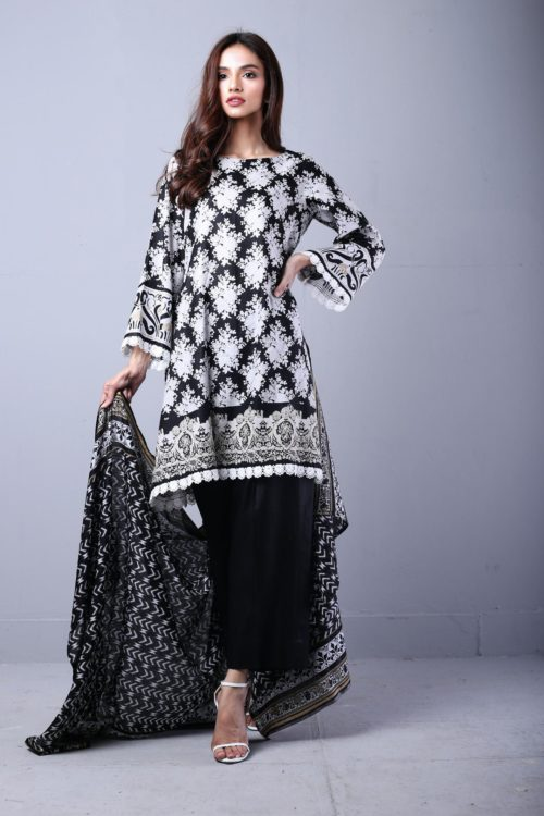Sahil Printed Lawn Autumn Vol 1