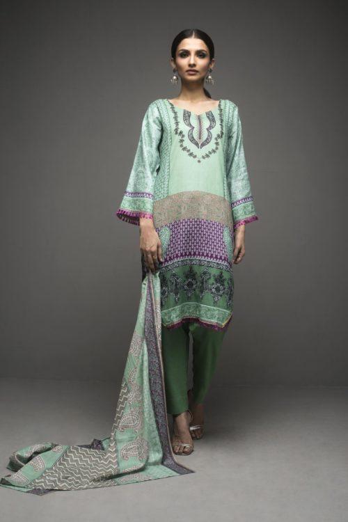 Sahil Printed Lawn Autumn Vol 1 RESTOCKED