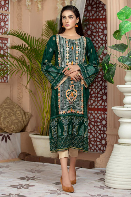*Hot on Sale* Lakhany Sahar Embroidered Kurti SK-7006-B HOT pakistani suits in delhi