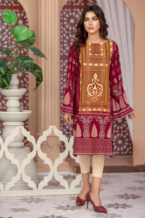 Lakhany Sahar Embroidered Kurti SK-7006-A