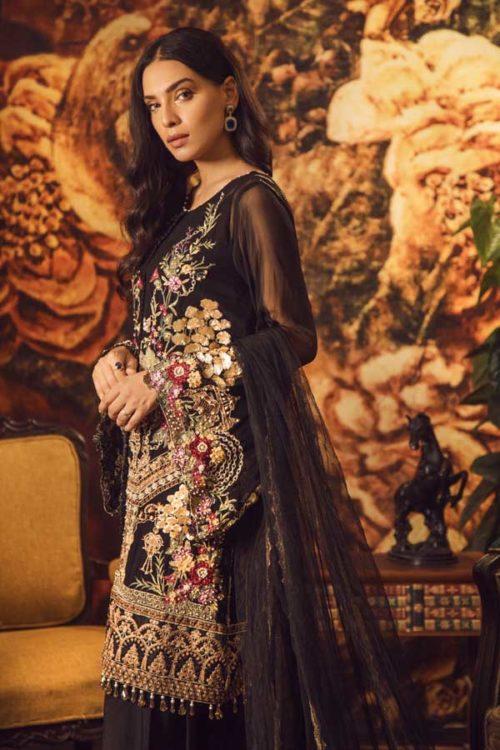 Adan Libas Guzarish Wedding Festive Luxury Chiffon Salwar Kameez  Design 2 RESTOCKED