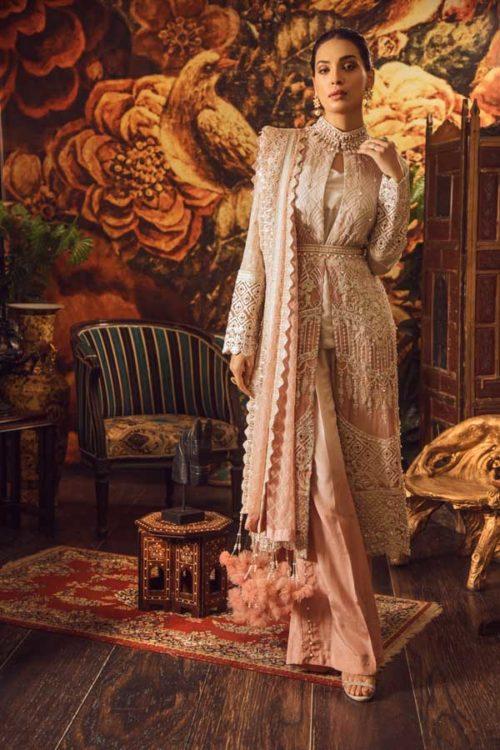 Adan Libas Guzarish Wedding Festive Luxury Chiffon Salwar Kameez  Design 4 RESTOCKED