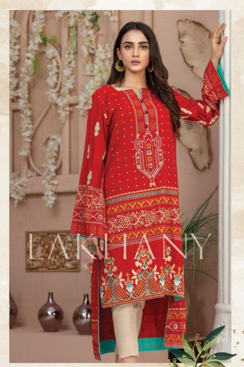 Lakhany Sahar Embroidered Kurti SK-7007-A