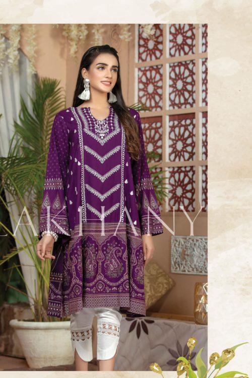 Lakhany Sahar Embroidered Kurti SK-7010-A