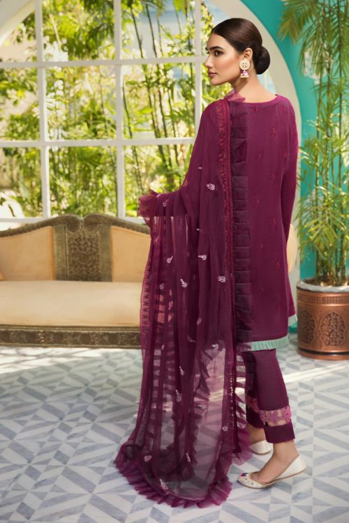 Raaya Embroidered Lawn Winter Karandi  by Rang Rasiya  D 705 B