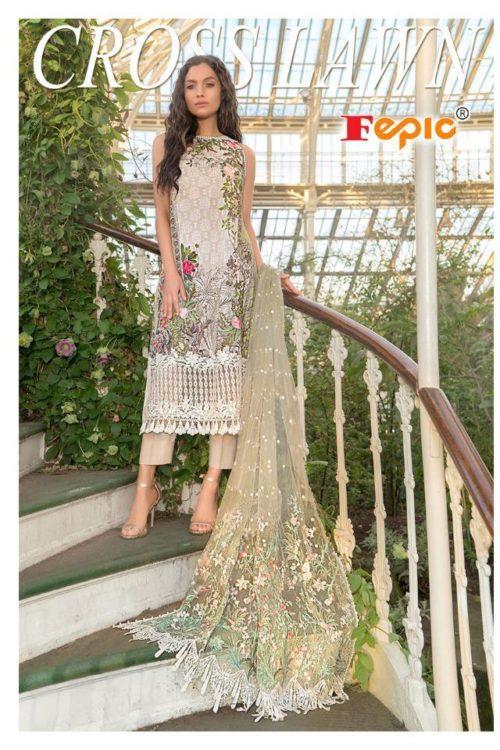 Cream White Color White Pakistani Style Salwar Kameez – Sobia Style
