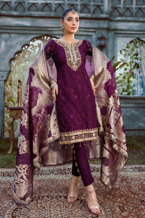 Umyas Luxury Chikankari Collection  Vol 2 – D5