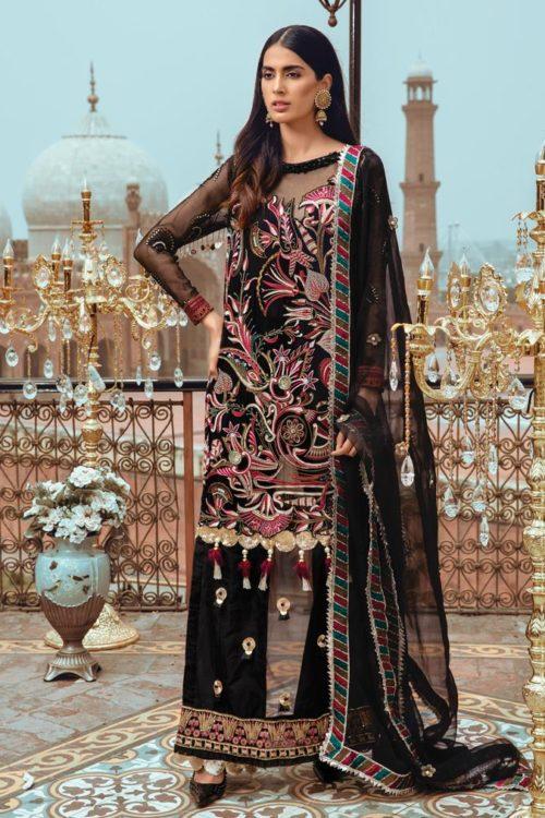 Mehr-un-Nisa Embroidered Festive Chiffon by Rang Rasiya RESTOCKED