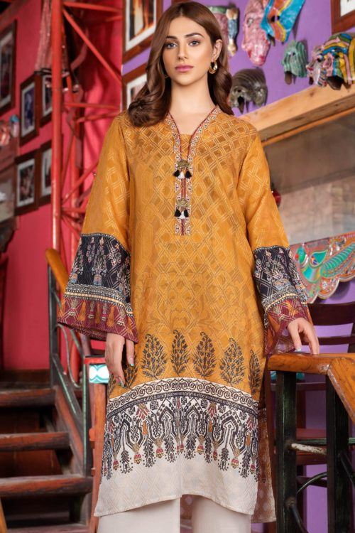 Limelight Cambric  Collection –  Design U0861 OCHRE