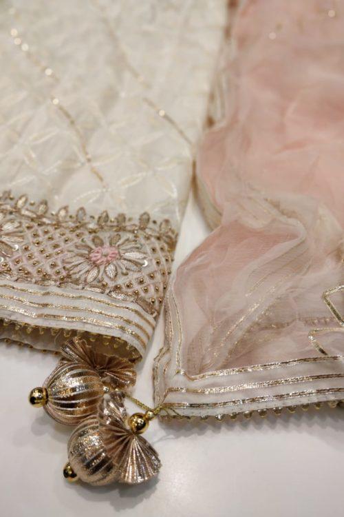 Salwar Suit and Dress for Karwa Chauth – Gota Work