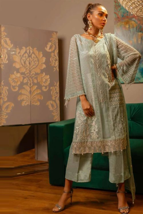 Charizma Chimmer Vol 4 - Original Charizma Chimmer Vol 4 D24 Charizma Pakistani Suits