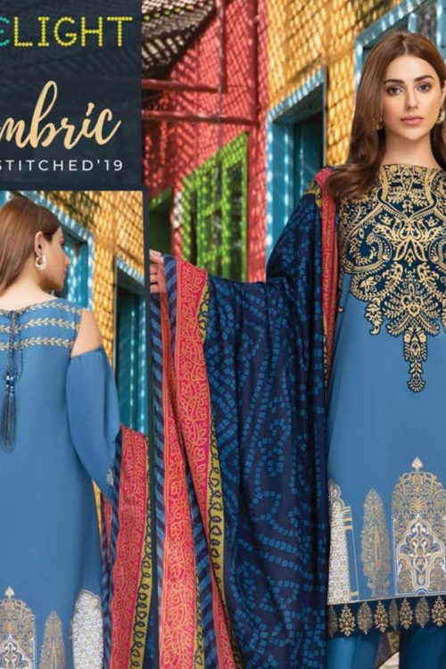 Limelight Cambric  Collection –  Design U0823 BLUE HOT Best Sellers Restocked On Sale