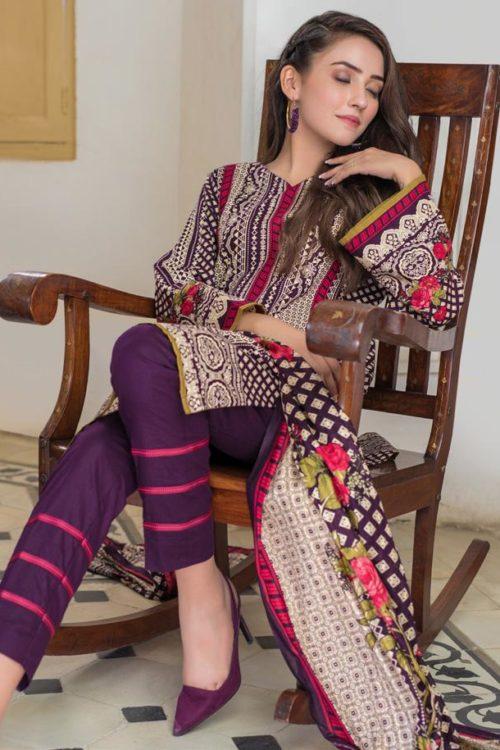 Resham Cambric by Firdous 116C