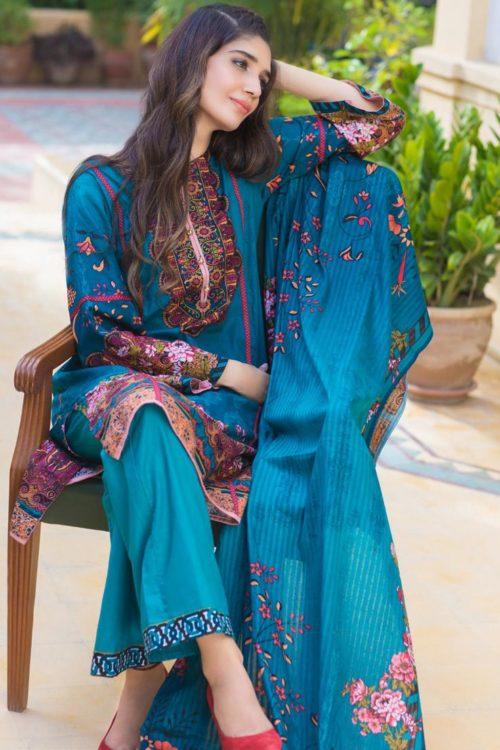 Resham Cambric by Firdous 110B