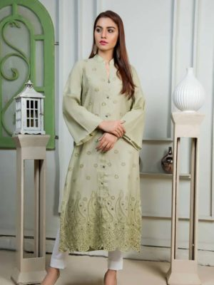 Gul Ahmed Yolo Kurti Cambric Collection 2019  SCN 101