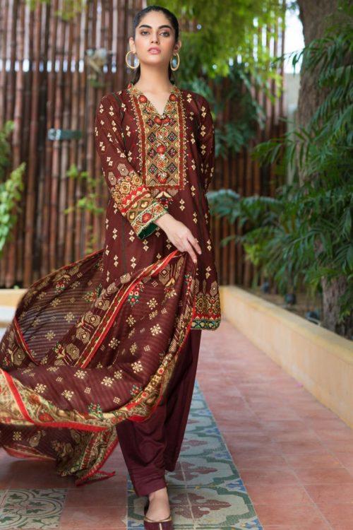 Resham Cambric by Firdous Design 109C
