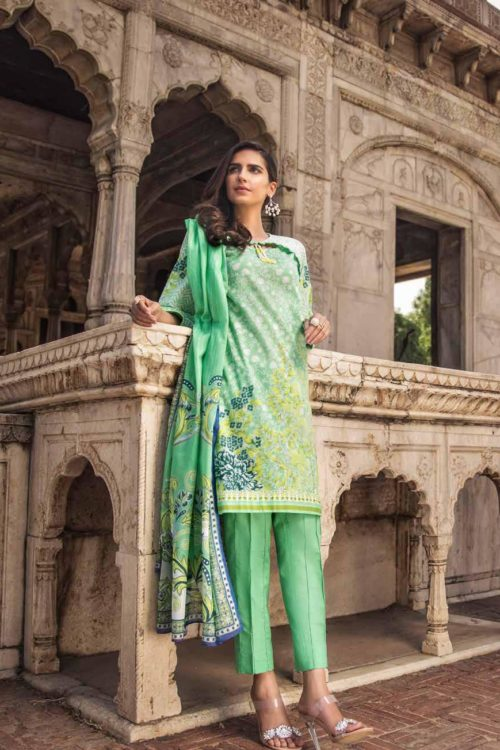 Gul Ahmed Fall Cambric Edition CBN 100A