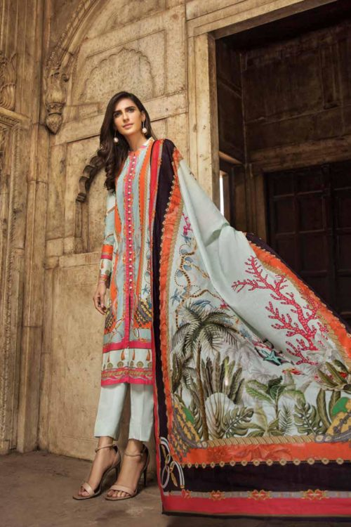 Gul Ahmed Fall Cambric Edition CBN 101A