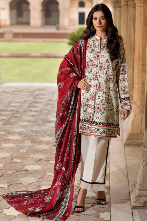 Gul Ahmed Fall Cambric Edition TCN44A