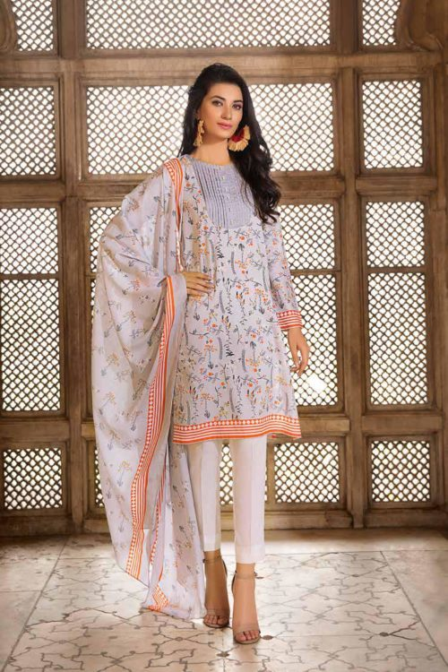 Gul Ahmed Fall Cambric Edition TCN45A