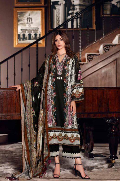 Gul Ahmed Fall Cambric Edition CN01 HOT