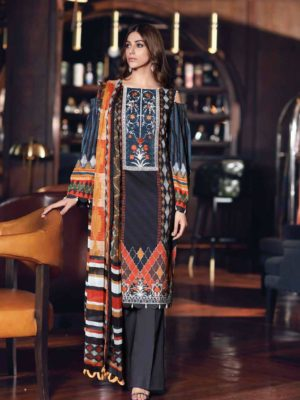 Gul Ahmed Fall Cambric Edition SSM30