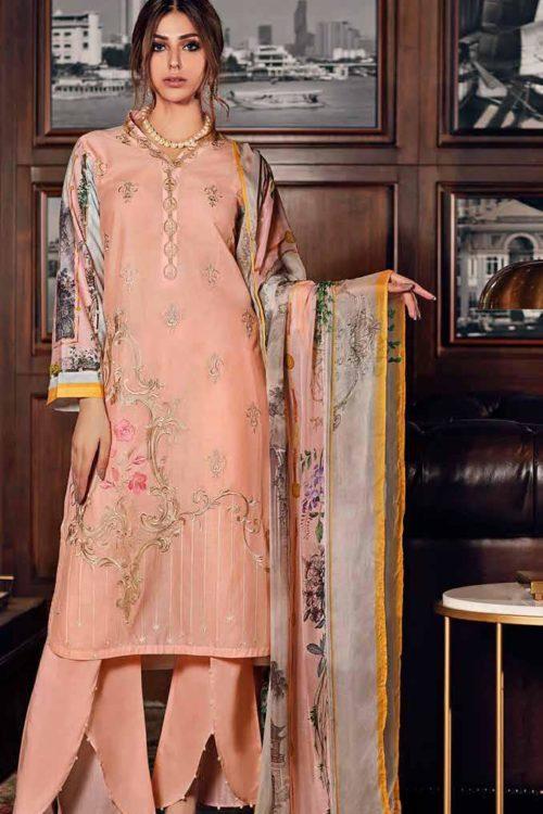 Gul Ahmed Fall Cambric Edition SSM30