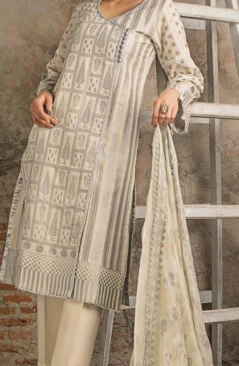 Gul Ahmed Fall Cambric Edition MJ14