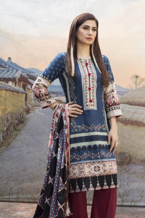 Sahil Printed Cotton Salwar Kameez HOT