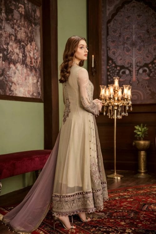 Embroidered Chiffon Salwar Kameez by Flossie  – Design Pastelues Flossie Vol 5 - Original Festive