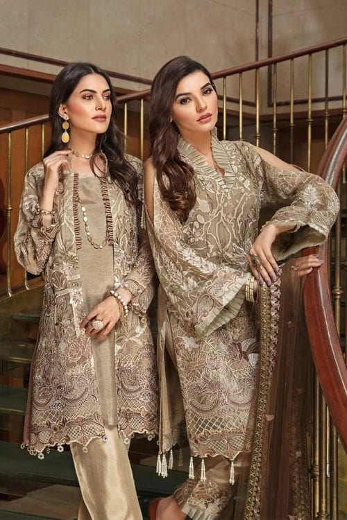 Casual Salwar Kameez Collection Volume 18 from Ramsha Ramsha Volume 18 - Original Festive