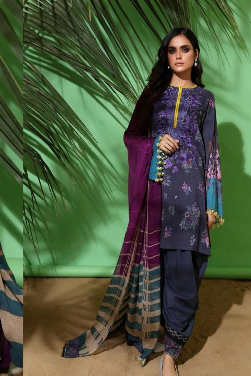 Raiza- Wedding Collection by Qalamkar - Original Raiza- Wedding Collection by Qalamkar – Azeen QF-09 Salwar Suits Pakistani Suits for Winter