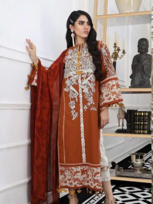 Sana Safinaz Pre-Fall Embroidered Cambric 2019 Code: 01 (3 Piece) HOT  – RELISTED / RESTOCKED *Hot on Sale* Best Sellers