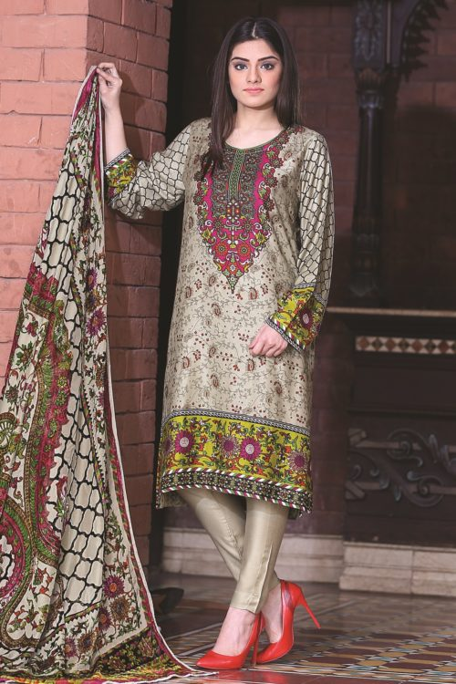Sana & Samina Twill Palachi Salwar Kameez | Velvet Shawl | Lala