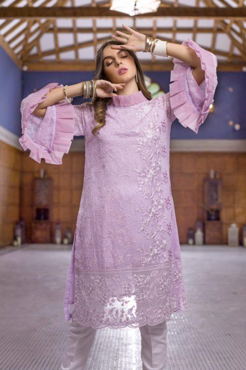 Pakistani Kurti Azure Luxury Formals Vol 5 Lavender Dreams – LFD12