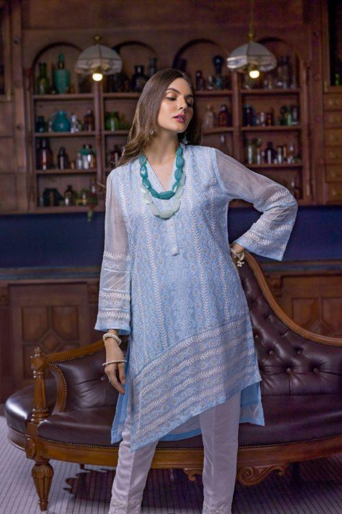 Pakistani Kurti Azure Luxury Formals Vol 5 Charmed Aura – LFD10